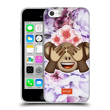 Official Emoji Solos Monkey Soft Gel Case For Apple Iphone 5C