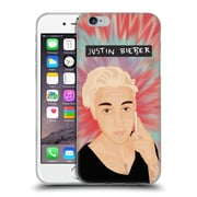 Official Justin Bieber Justmojis Tie Dye Soft Gel Case For Apple Iphone 6 / 6S