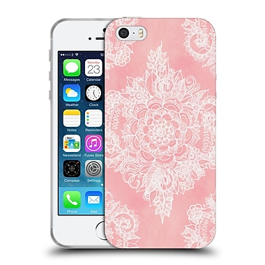 Official Micklyn Le Feuvre Patterns 5 Marshmallow Lace Soft Gel Case For Apple Iphone 5 / 5S / Se