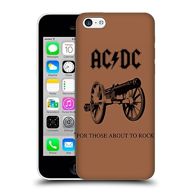 Official Ac/Dc Acdc Album Cover For Those About To Rock Hard Back Case For Apple Iphone 5C