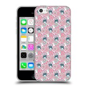 Official Micklyn Le Feuvre Animals Tiny Elephants In Fields Of Flowers Soft Gel Case For Apple Iphone 5C