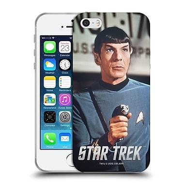 Official Star Trek Spock Phaser Soft Gel Case For Apple Iphone 5 / 5S / Se