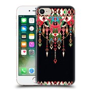 Official Micklyn Le Feuvre Modern Deco Red And Black Hard Back Case For Apple Iphone 7