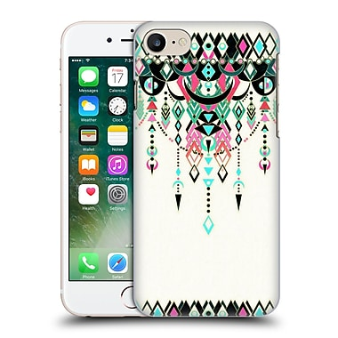 Official Micklyn Le Feuvre Modern Deco Pink And Turquoise Hard Back Case For Apple Iphone 7