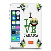 Official Emoji I Love My Country Jamaica Soft Gel Case For Apple Iphone 5 / 5S / Se