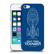 Official Star Trek Ships Of The Line Voy Uss Voyager Soft Gel Case For Apple Iphone 5 / 5S / Se