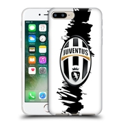 Official Juventus Football Club Crest Slash Soft Gel Case For Apple Iphone 7 Plus