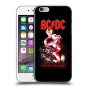 Official Ac/Dc Acdc Song Titles Whole Lotta Rosie Soft Gel Case For Apple Iphone 6 / 6S
