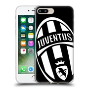 Official Juventus Football Club Crest Mono Logo Soft Gel Case For Apple Iphone 7 Plus