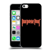 Official Justin Bieber Tour Merchandise Logo Soft Gel Case For Apple Iphone 5C