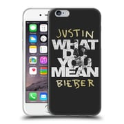 Official Justin Bieber Purpose B&W What Do You Mean Typography Soft Gel Case For Apple Iphone 6 / 6S