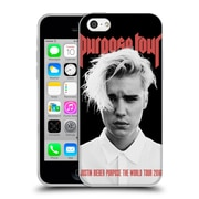 Official Justin Bieber Tour Merchandise Purpose Poster Soft Gel Case For Apple Iphone 5C