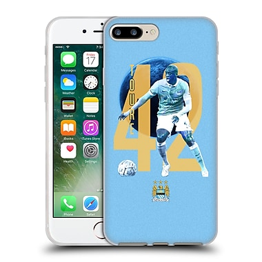 Official Manchester City Man City Fc Players Yaya Toura%Soft Gel Case For Apple Iphone 7 Plus