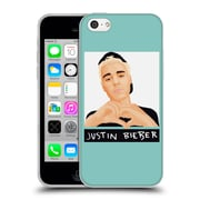 Official Justin Bieber Justmojis Love Hand Sign Soft Gel Case For Apple Iphone 5C