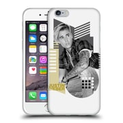 Official Justin Bieber Purpose B&W Calendar Geometric Collage Soft Gel Case For Apple Iphone 6 / 6S