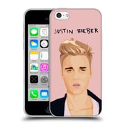 Official Justin Bieber Justmojis Pink Soft Gel Case For Apple Iphone 5C