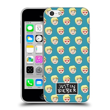 Official Justin Bieber Justmojis Patterns Soft Gel Case For Apple Iphone 5C