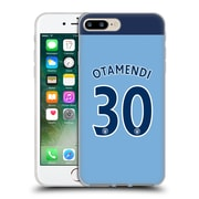 Official Manchester City Man City Fc Player Home Kit 2016/17 Group 1 Otamendi Soft Gel Case For Apple Iphone 7 Plus
