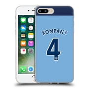 Official Manchester City Man City Fc Player Home Kit 2016/17 Group 1 Kompany Soft Gel Case For Apple Iphone 7 Plus