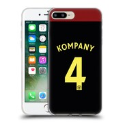Official Manchester City Man City Fc Away Kit 2016/17 1 Kompany Soft Gel Case For Apple Iphone 7 Plus