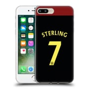 Official Manchester City Man City Fc Away Kit 2016/17 2 Sterling Soft Gel Case For Apple Iphone 7 Plus