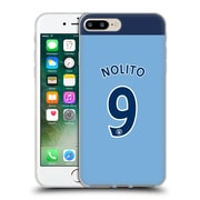 Official Manchester City Man City Fc Player Home Kit 2016/17 Group 2 Nolito Soft Gel Case For Apple Iphone 7 Plus