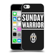Official Juventus Football Club Lifestyle Sunday Warrior Black Soft Gel Case For Apple Iphone 5C