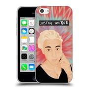 Official Justin Bieber Justmojis Tie Dye Soft Gel Case For Apple Iphone 5C