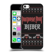 Official Justin Bieber Knitted Christmas Purpose Tour Soft Gel Case For Apple Iphone 5C