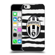 Official Juventus Football Club Lifestyle Zebra Stripes Soft Gel Case For Apple Iphone 5C