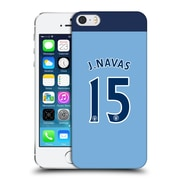Official Manchester City Man City Fc Player Home Kit 2016/17 Group 2 Navas Hard Back Case For Apple Iphone 5 / 5S / Se