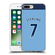 Official Manchester City Man City Fc Player Home Kit 2016/17 Group 2 Sterling Soft Gel Case For Apple Iphone 7 Plus