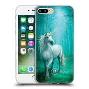 Official Anne Stokes Mythical Creatures Forest Unicorn Soft Gel Case For Apple Iphone 7 Plus
