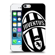 Official Juventus Football Club Crest Mono Logo Hard Back Case For Apple Iphone 5 / 5S / Se