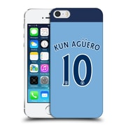 Official Manchester City Man City Fc Player Home Kit 2016/17 Group 2 Kun Agaeero Hard Back Case For Apple Iphone 5 / 5S / Se