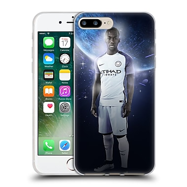 Official Manchester City Man City Fc Power Players Sagna Soft Gel Case For Apple Iphone 7 Plus
