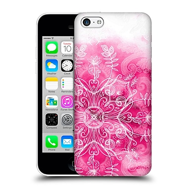 Official Micklyn Le Feuvre Mandala 2 Pink And Patterns Hard Back Case For Apple Iphone 5C