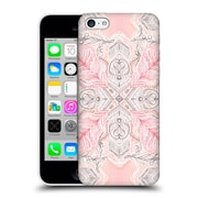 Official Micklyn Le Feuvre Mandala 2 Peaches And Cream Doodle Tile Pattern Hard Back Case For Apple Iphone 5C