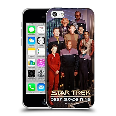 Official Star Trek Iconic Characters Ds9 Main Cast Soft Gel Case For Apple Iphone 5C