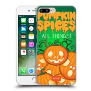 Official Emoji Halloween Parodies Pumpkin Spices Hard Back Case For Apple Iphone 7 Plus