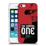 Official Liverpool Football Club Jurgen Klopp Shoulder Red Soft Gel Case For Apple Iphone 5 / 5S / Se
