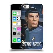 Official Star Trek Spock On The Bridge Soft Gel Case For Apple Iphone 5C