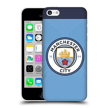 Official Manchester City Man City Fc Badge Kit 2016/17 Home Hard Back Case For Apple Iphone 5C