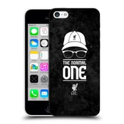 Official Liverpool Football Club Klopp Icons Normal Black Grunge Hard Back Case For Apple Iphone 5C