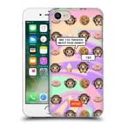 Official Emoji Speech Bubbles Hungry Monkeys Hard Back Case For Apple Iphone 7