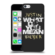 Official Justin Bieber Purpose B&W What Do You Mean Typography Hard Back Case For Apple Iphone 5C