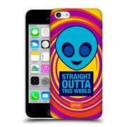 Official Emoji Flat Alien Hard Back Case For Apple Iphone 5C