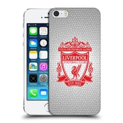 Official Liverpool Football Club Crest 2 White Pixel 2 Hard Back Case For Apple Iphone 5 / 5S / Se