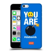 Official Emoji Flat Dabomb Hard Back Case For Apple Iphone 5C