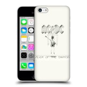 Official Ac/Dc Acdc Album Cover Flick Of The Switch Hard Back Case For Apple Iphone 5C